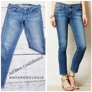 Adriano Anthropologie The Stevie Ankle Jeans